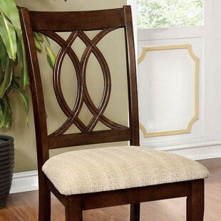 Yuri Upholstered Dining Chair (Set of 2) Alcott Hill