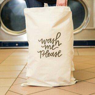 Love You A Latte Shop 'Wash Me Please' Laundry Bag