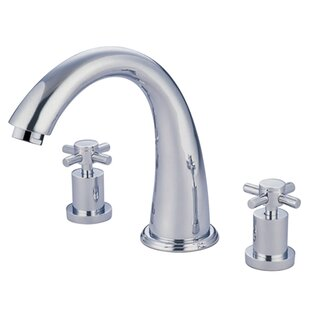 Elements of Design South Beach Double Cross Handle Roman Tub Filler