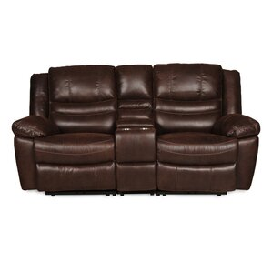 Mellissa Console Reclining Loveseat by Darby..