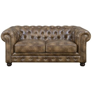 Caine Chesterfield Loveseat by Trent Austin Design