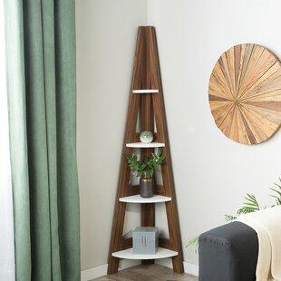 Brisson Corner Ladder Bookcase by Winston Porter