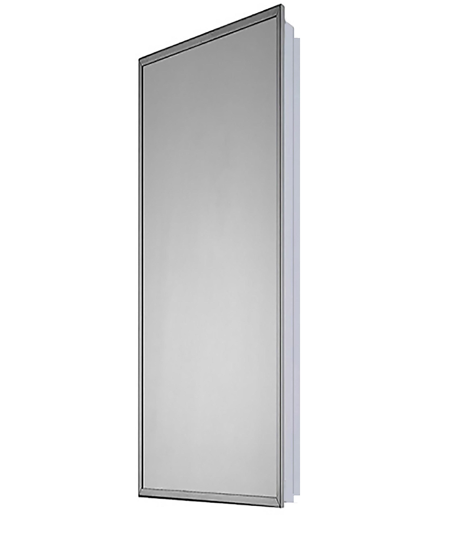 Winston Porter Norita Partially Recessed Mount Framed 1 Door Medicine Cabinet With 7 Adjustable Shelves Wayfair