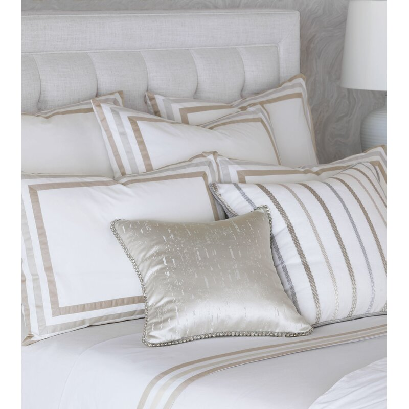 Eastern Accents Barclay Butera Vadoma Textured Square Pillow Cover And Insert Wayfair