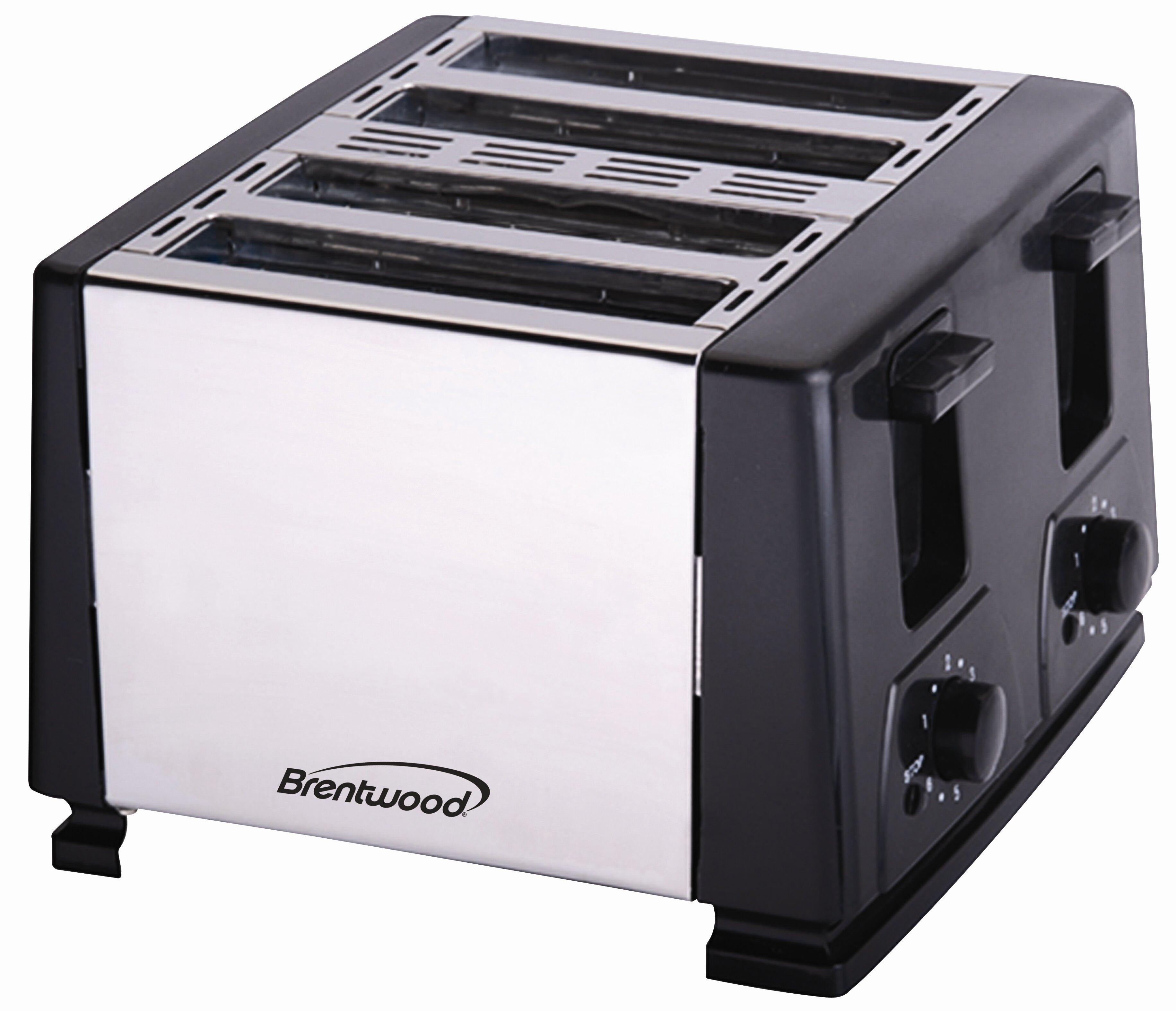 Brentwood 4-Slice Toaster & Reviews | Wayfair