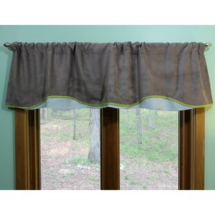 Cydney Corduroy 50 Window Valance (Set of 2) by Harriet Bee
