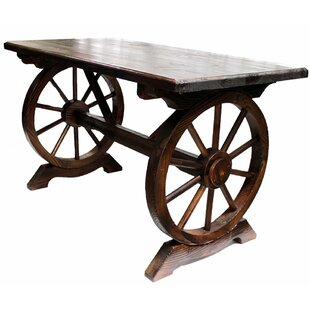 Wrigley Wheeled Wooden Console Table