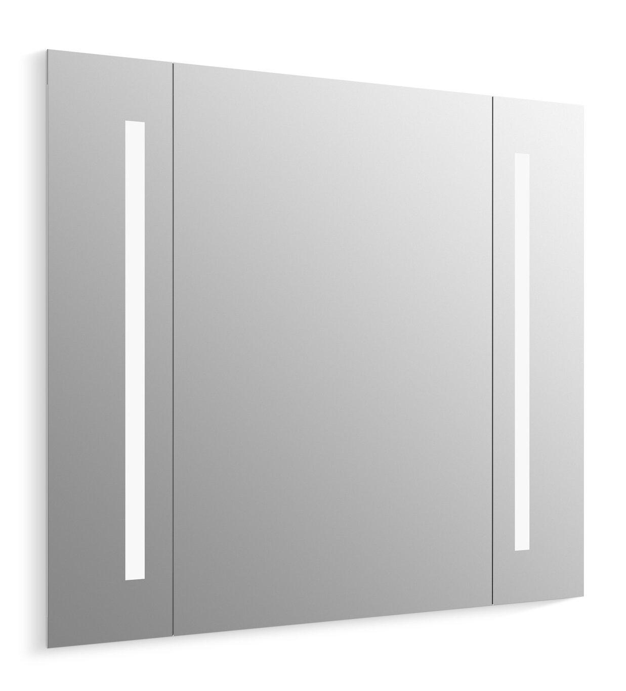 K-99573-TL-NA Kohler Verdera Lighted Bathroom/Vanity Mirror | Wayfair