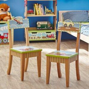 Transportation Kids Desk Chair (Set of 2) by Fantasy Fields