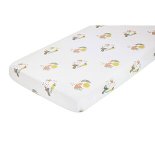Menagerie Cotton Percale Flat Crib Sheet ByNursery works