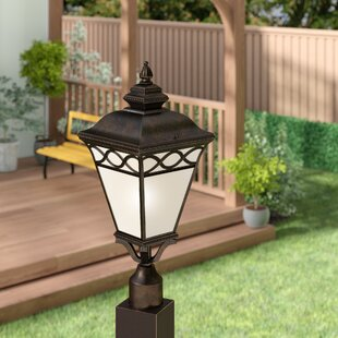 Creighton 1-Light Lantern Head by Three Posts