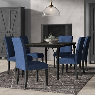 Haysi Wood 7 Piece Dining Set by Greyleigh