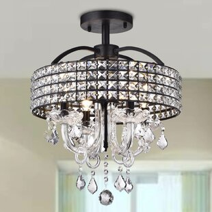 Roman 4-Light Semi Flush Mount..