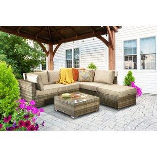 Margaret 5 Seater Rattan Sofa Set Image