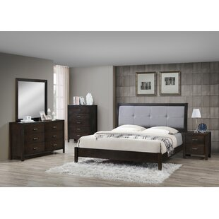 Vanalstyne Panel 4 Piece Bedroom Set by Latitude Run