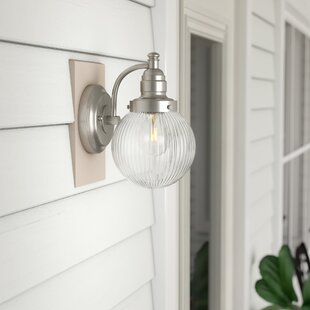 Michaels 1-Light Outdoor Sconce by Charlton Home