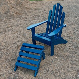 Prairie Leisure Design Junior Wood Adirondack Chair