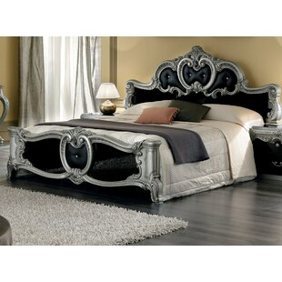 Alexzander Upholstered Panel Bed by Astoria Grand Comparison