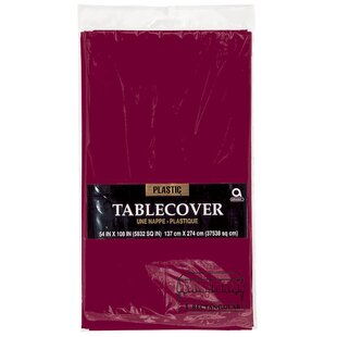 Everyday Plastic Tablecloth (Set of 4)