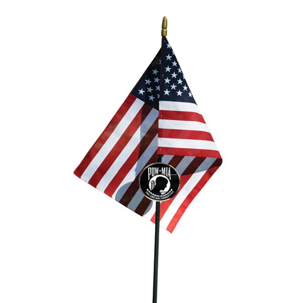 4/' x 6/' Double Sided Nylon Allied Flag POW//MIA Flag