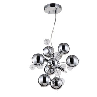 Orren Ellis Louie 6-Light Sputnik Chandelier