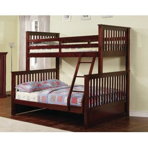 jamarcus twin over full bunk bed with storage