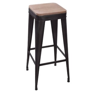 Tevis 71.5cm Bar Stool By Borough Wharf