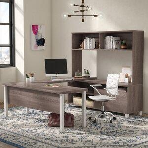 Ariana 4 Piece U-Shape Desk Office Suite