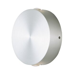Brayden Studio Mahpee 2-Light Outdoor Flush Mount