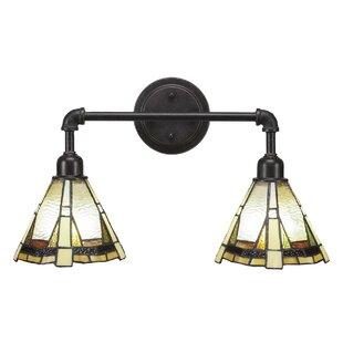 Charlton Home Shawnda Vintage 2-Light Vanity Light