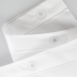 Sippel PVC Single Shower Curtain Liner