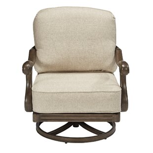 Canora Grey Hargrave Rocking Chair with Cushions (Set of 2)