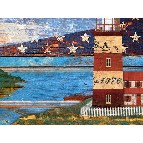 Lighthouse Living Room Wall Art Wayfair
