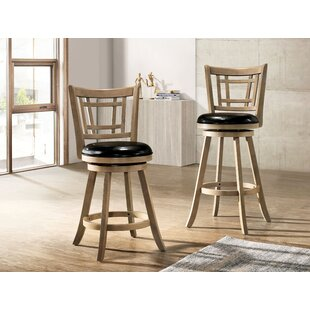 Immanuel 24.62 Bar Stool Millwood Pines