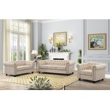Lossett 3 Piece Standard Living Room Set by Canora Grey