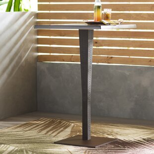 Jaelyn Plastic Bar Table by Beachcrest Home Cool