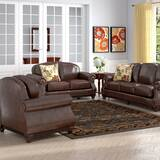 Sneyd Park 3 Piece Leather Living Room Set by Canora Grey