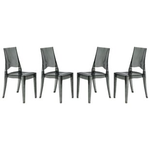 LeisureMod Coral Side Chair (Set of 4)