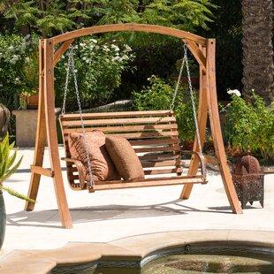 Brandi Porch Swing with Stand
