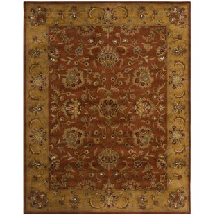Balthrop Brown Yellow Brick Red Area Rug