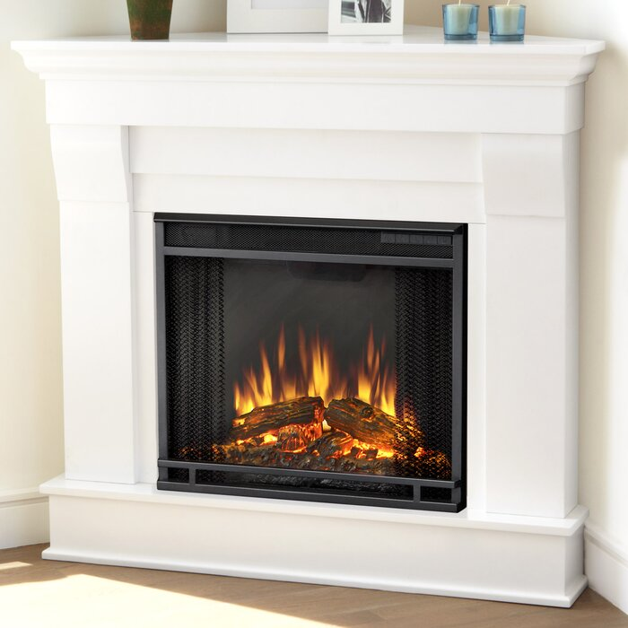 Cau Corner Electric Fireplace