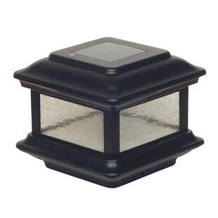 Classy Caps Solar Colonial 1 LED Fence Post Cap