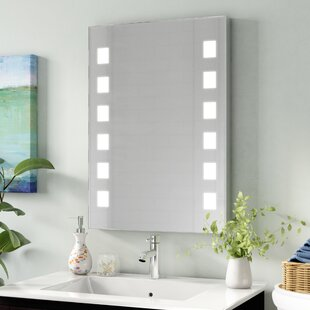 Check Prices Turgeon Studio LED Bathroom/Vanity Mirror ByWade Logan