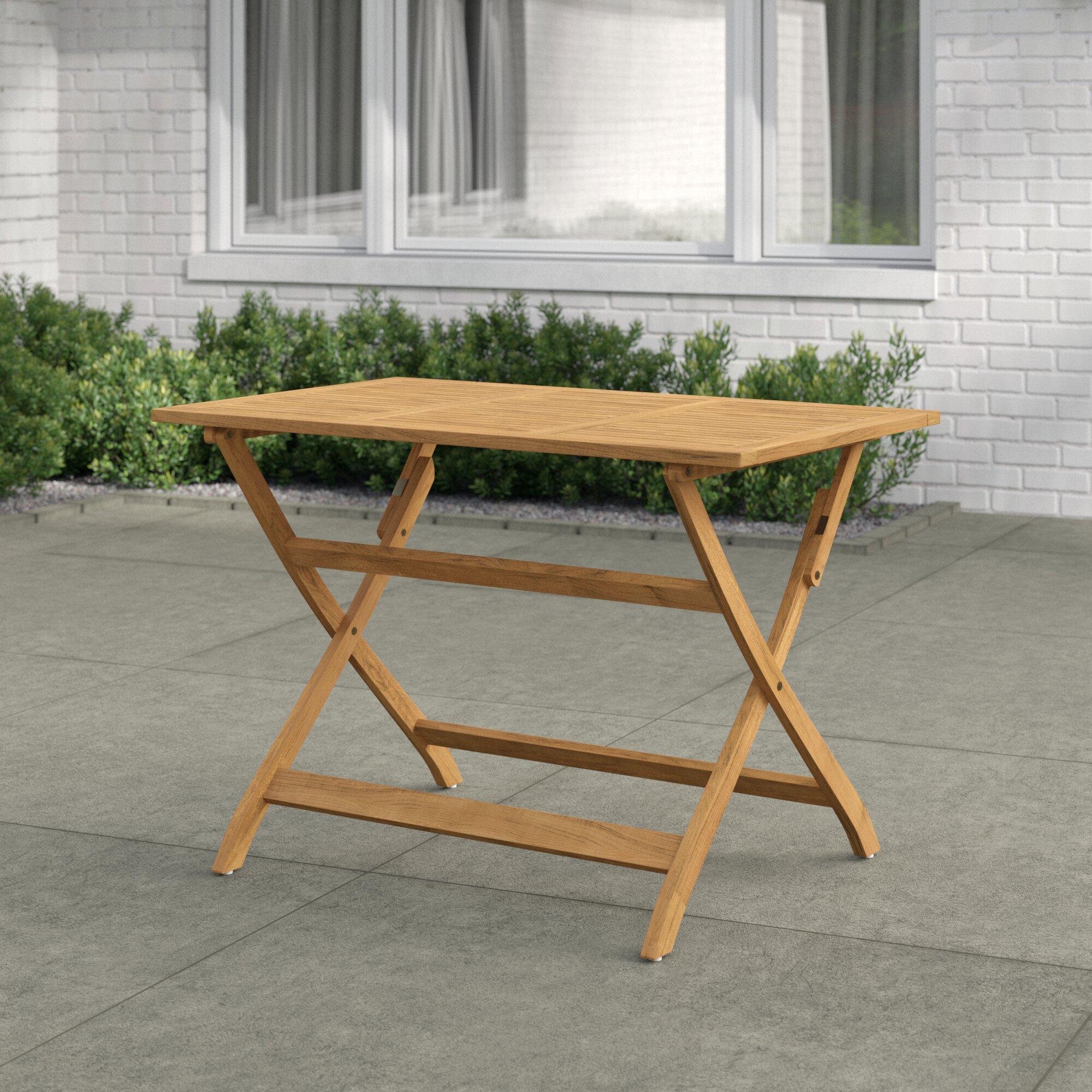 - Zipcode Design Enola Folding Wooden Dining Table & Reviews Wayfair