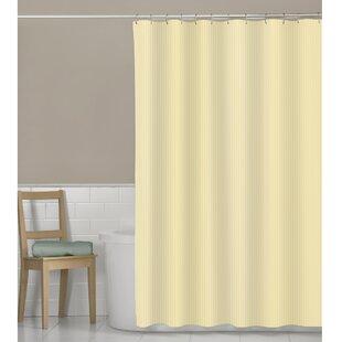 Buy luxury Murakami Seersucker Stripe Shower Curtain ByBeachcrest Home