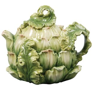Giardino Botticelli Artichoke Teapot