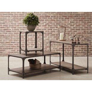 Williston Forge Danette 3 Piece Coffee Table Set