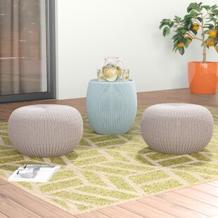 Reviews Steves 3 Piece Accent Stool Set By Mercury Row