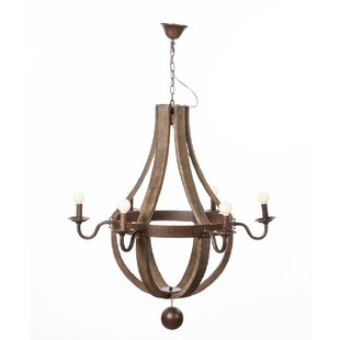 dCOR design Hvitsen 6-Light Empire Chandelier
