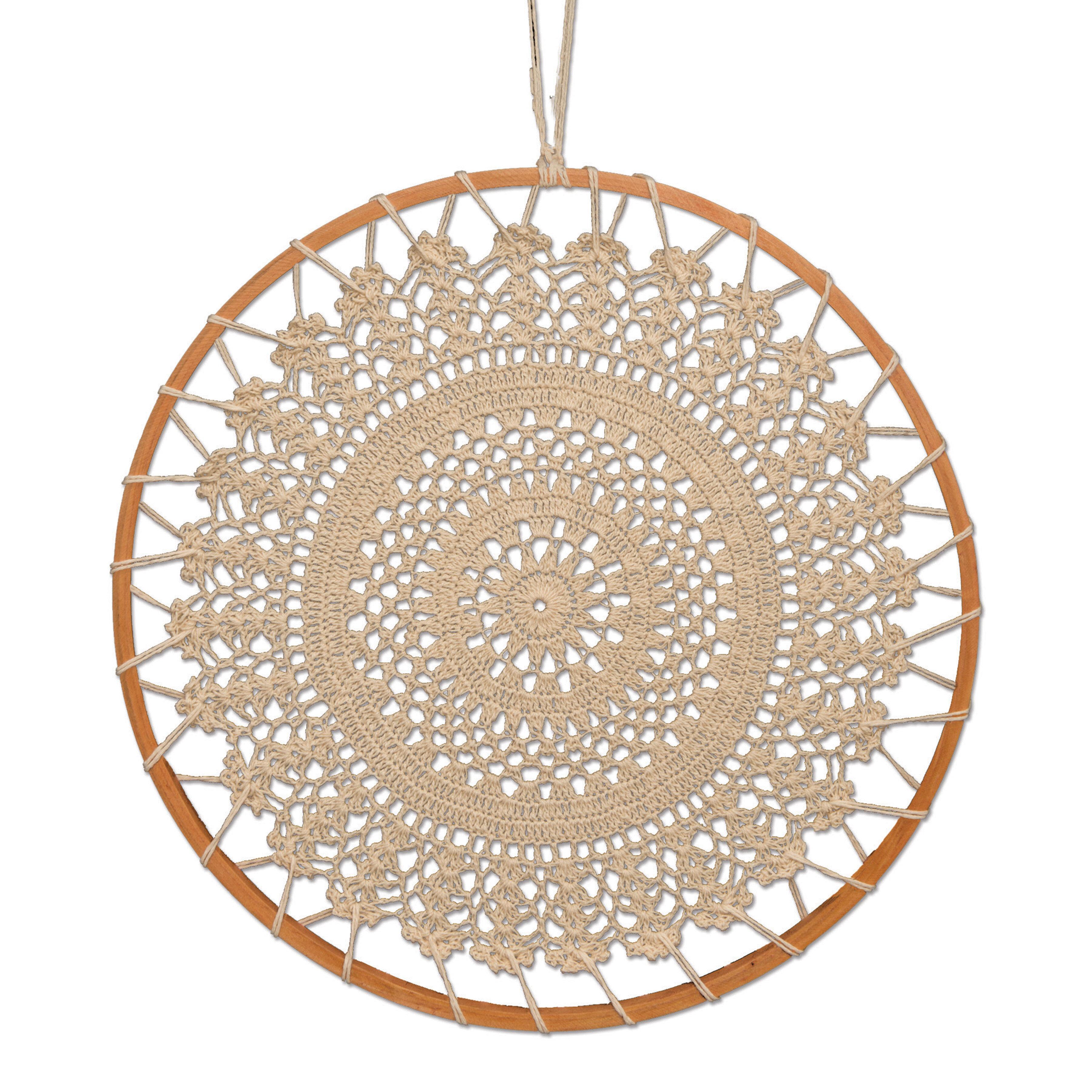 Crochet Dream Catcher Bohemian Cotton Wall Décor Reviews Joss Main